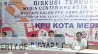KPU Medan Lakukan Penelusuran Rekam Jejak Calon PPK Lewat Media Sosial