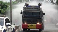 20 Ribu Liter Disinfektan Disemprotkan Untuk Cegah Covid-19 di Tebingtinggi