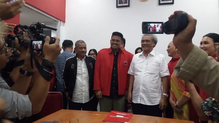 Mengekor Mertua, Bobby Nasution Daftar Jadi Kader PDIP