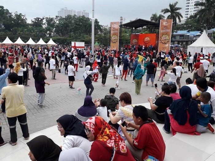 Ribuan Warga Medan Padati Peluncuran Maskot & Jingle Pilkada Medan 2020