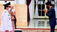 Jokowi Lantik Wagub DKI Jakarta Ahmad Riza Patria