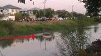 Lamborghini Nyebur ke Sungai