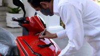 Motor Listrik Gesits Milik Jokowi Dilelang