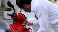 Pemenang Lelang Motor Jokowi