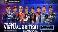Ini Jadwal Virtual MotoGP Seri V di Sirkuit Silverstone