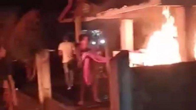 Dinilai Tak Tepat Sasaran, Posko Covid-19 di Jambi Diduga Dibakar Warga