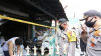 Kapolda Sumut Bantu Korban Kebakaran di Gang Seto Medan