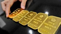 Akhir Pekan, Harga Emas Antam Naik Tipis Rp 1.000/Gram , Dipicu Ketegangan AS-China