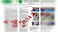 Surat Soal Seruan Rapid TesItu Hoax, MUI Minta Polisi Usut Tuntas