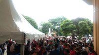 Pelaksanaan Pasar Murah Pemprov Sumut Abaikan Protokol Kesehatan Pencegahan Covid-19