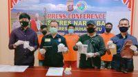 Polisi Tangkap 15 Bandit Narkoba di Labuhanbatu