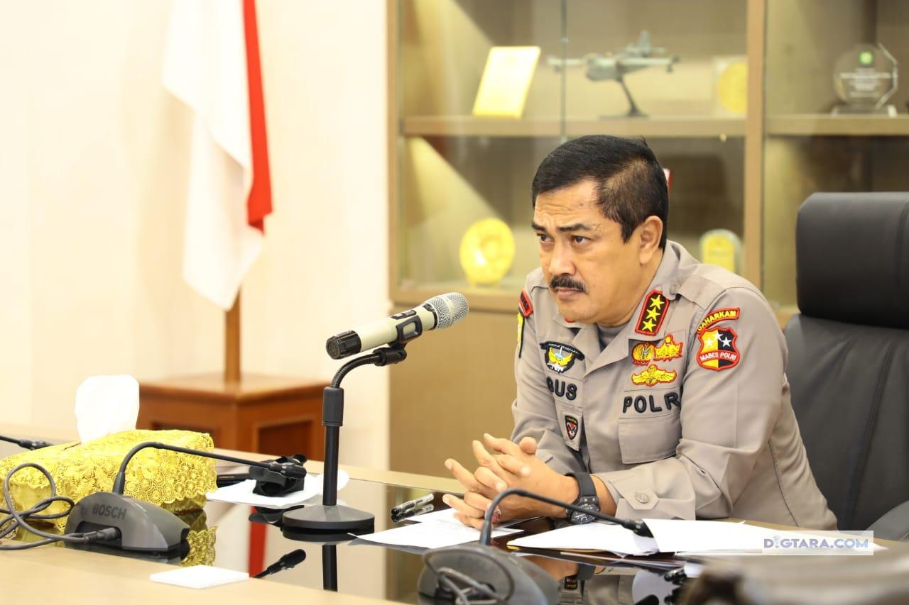 Wakili Kapolri, Kabaharkam Polri Sampaikan Perkembangan Kasus Ambil Paksa Jenazah Covid-19