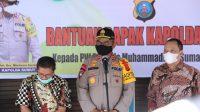 Serahkan Bantuan ke PW Muhammadiyah, Kapoldasu: Saya Sangat Bahagia