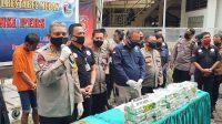 Polisi Gagalkan Peredaran 35 Kilogram Sabusabu Asal China