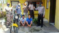Curi Yamaha Scorpio, Dua Pemuda di Tebing Tinggi Diringkus Polisi