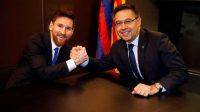 Ini Tanggapan Presiden Barca Soal Kabar Hengkangnya Lionel Messi